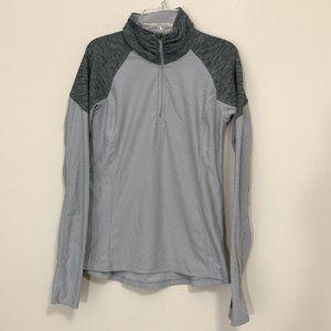 New Balance 1/4 Quarter Zip Pullover Size S Gray